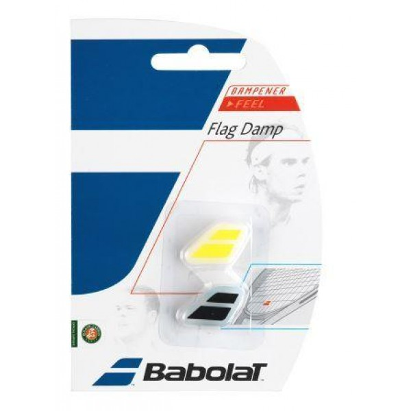 Виброгаситель Babolat Vibration flag damp Y/W