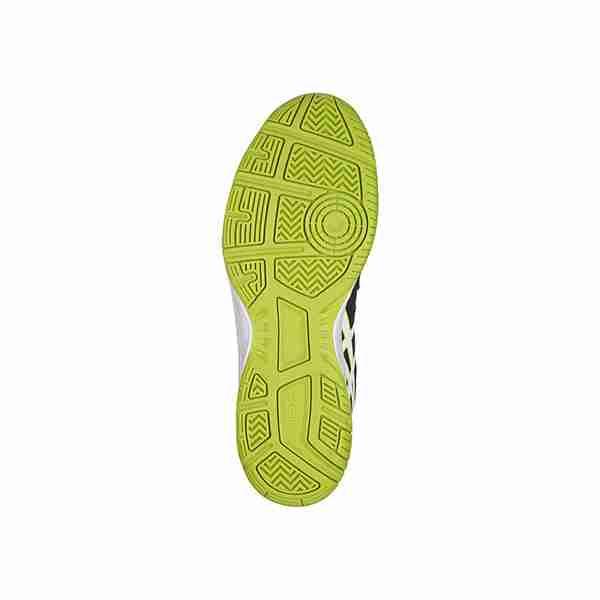 Детские теннисные кроссовки Asics Gel-Gamepoint GS B/W/G
