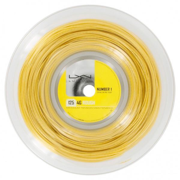 Теннисная струна Luxilon 4G Rough 200 метров