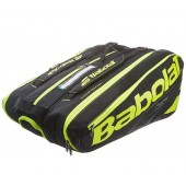 Сумка Babolat Pure Black/Fluo Yellow на 12 ракеток