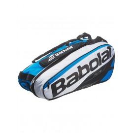 Теннисная сумка Babolat Pure Blue/White на 6 ракеток