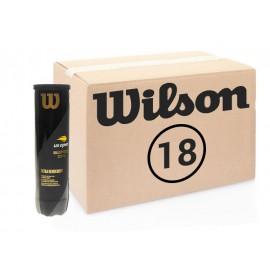 Теннисные мячи Wilson US Open 72 мяча (18 по 4 мяча)