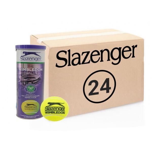 Теннисные мячи Slazenger Wimbledon 72 мяча (24 по 3)