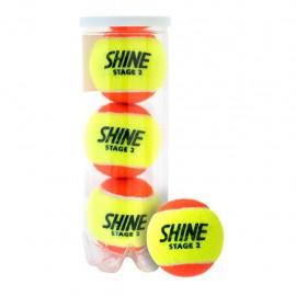 Теннисные мячи Shine Stage 2 Orange 72 мяча.