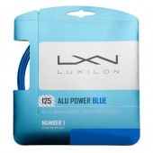 Теннисная струна Luxilon Alu Power Limited Edition Blue 1.25 12 метров.