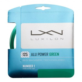 Теннисная струна Luxilon Alu Power Limited Edition Green 1.25 12 метров.