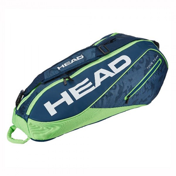 Теннисная сумка Head Tour Team Combi 6 Green Blue
