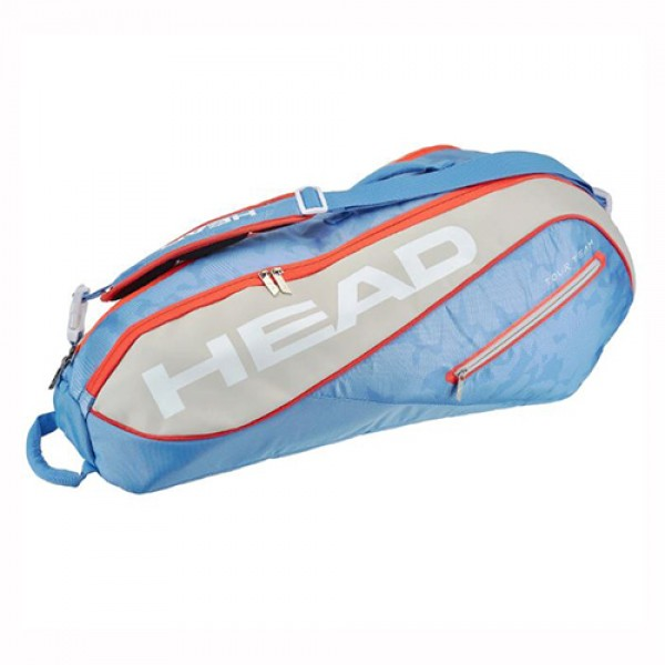 Теннисная сумка Head Tour Team Combi 6 White Blue