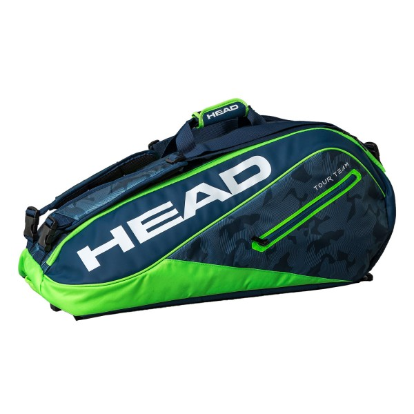Теннисная сумка Head Tour Team Supercombi 9R Blue/Green