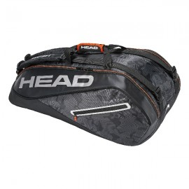 Теннисная сумка Head Tour Team Supercombi 9R Black/Silver