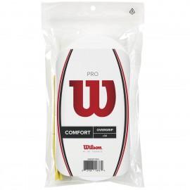 Теннисная намотка  Wilson Pro Overgrip Белый 30 штук