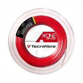 Теннисная струна Tecnifibre X-One Biphase Red 1.18 200 м