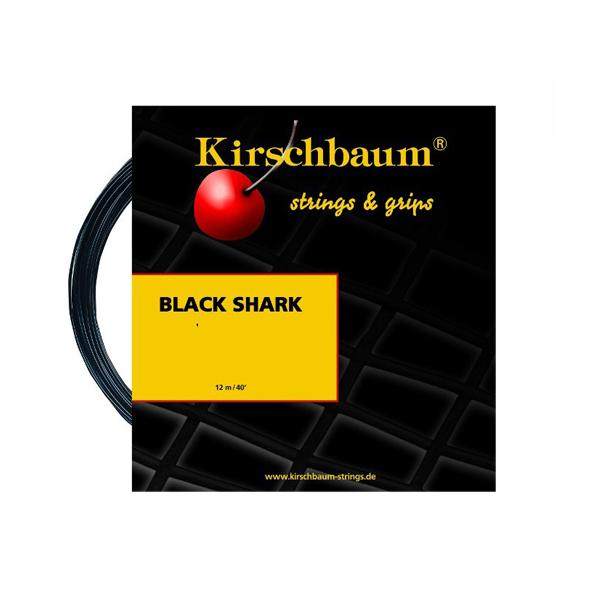Теннисная струна Kirshbaum Black Shark 12 метров