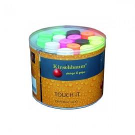 Теннисная намотка Kirschbaum Touch It 60 штук цветные