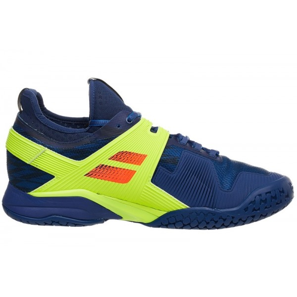 Теннисные кроссовки Babolat Propulse Rage All Court Yellow/Blue
