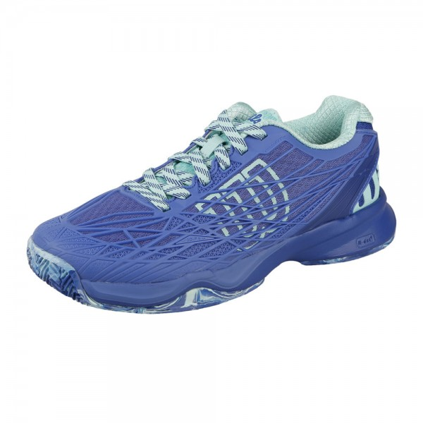 Теннисные кроссовки Wilson Kaos Clay Court Women Amparo Blue