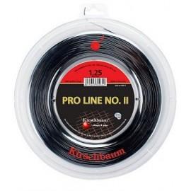 Теннисная струна Kirschbaum Pro Line II Черная 200 м