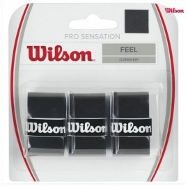 Теннисная намотка Wilson Pro Overgrip Sensation Black