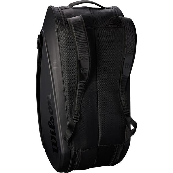 Сумка Wilson Federer DNA 12 Racket Bag 2018 Black
