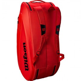 Сумка Wilson Federer DNA 12 Racket Bag 2018 Infrared