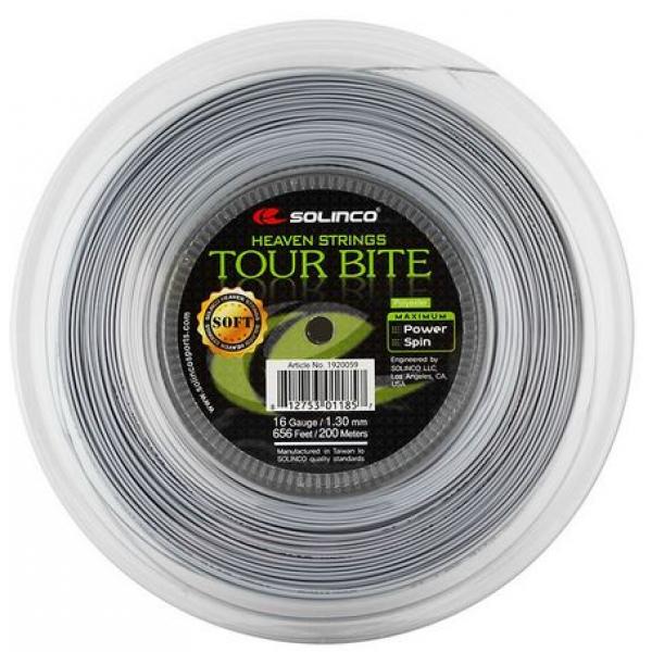 Теннисная струна Solinco Tour Bite Soft  1.30 200 м