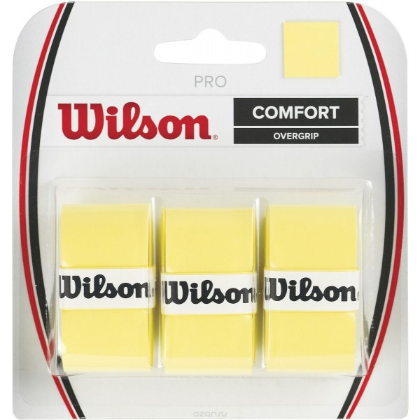 Теннисная намотка Wilson Pro Overgrip Желтая