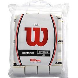 Теннисная намотка Wilson Pro Overgrip 12 White