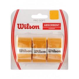 Теннисная намотка Wilson Pro Soft Overgrip Желтая