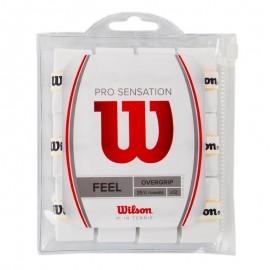 Теннисная намотка Wilson Pro Overgrip Sensation 12 White