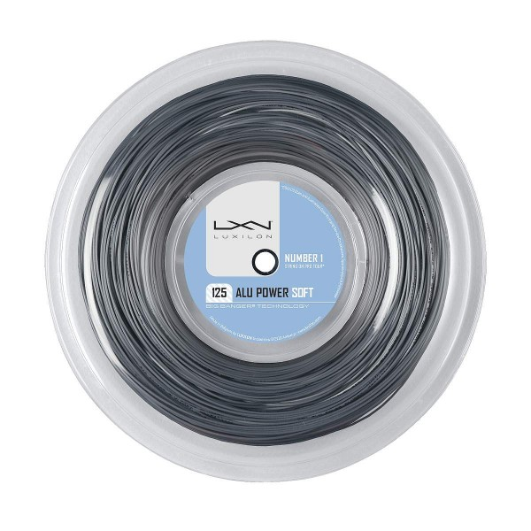 Теннисная струна Luxilon Alu Power Soft 200 метров