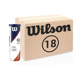 Теннисные мячи Wilson Roland Garros Clay 72 мяча