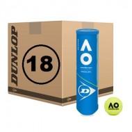 Теннисные мячи Dunlop AO Australian open 72 мяча
