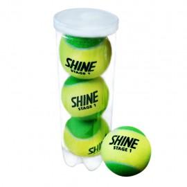 Теннисные мячи Shine Stage 1 Green 72 мяча