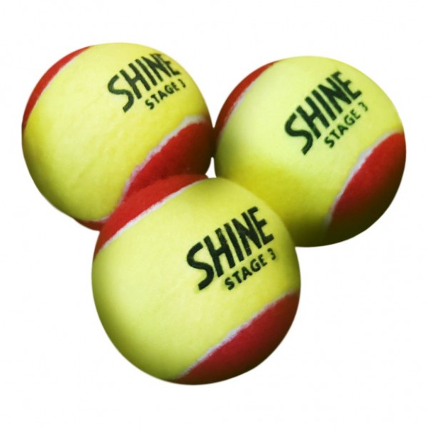 Теннисные мячи Shine Stage 3 Red  72 мяча