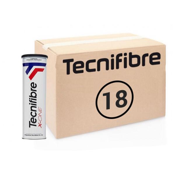 Теннисные мячи Tecnifibre X-One 72