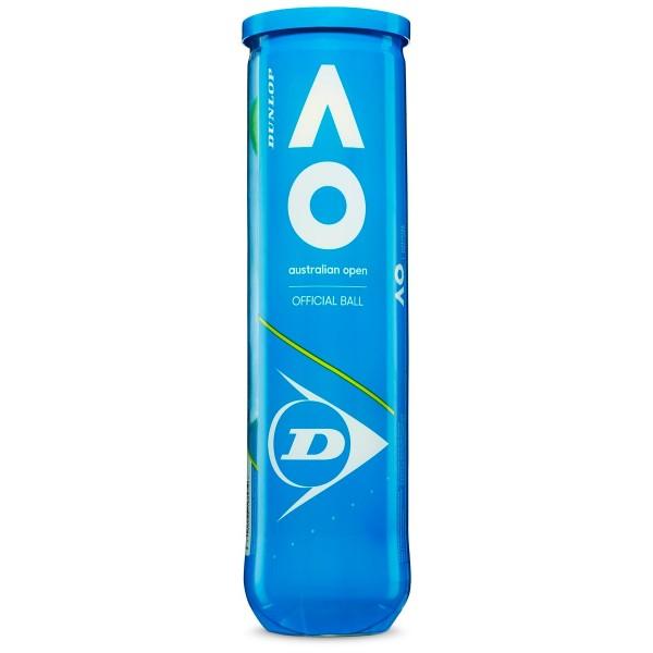Теннисные мячи Dunlop AO Australian open 4 мяча