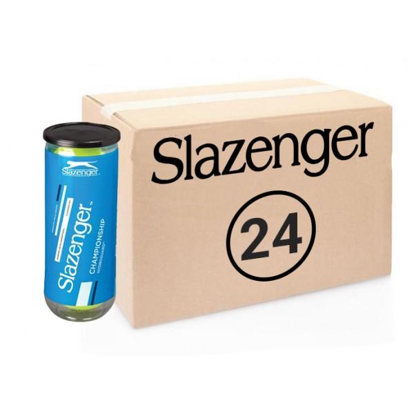 Теннисные мячи Slazenger Championship Hydroguard 72 мячей (24 по 3 мяча)