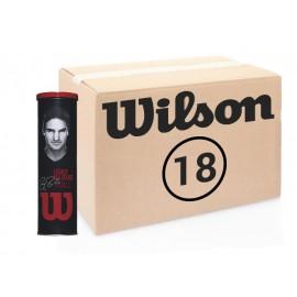 Теннисные мячи Wilson Roger Federer Legacy All Court 72 мяча
