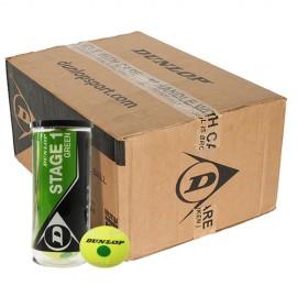Детские теннисные мячи Dunlop Stage 1 Green 72 мяча