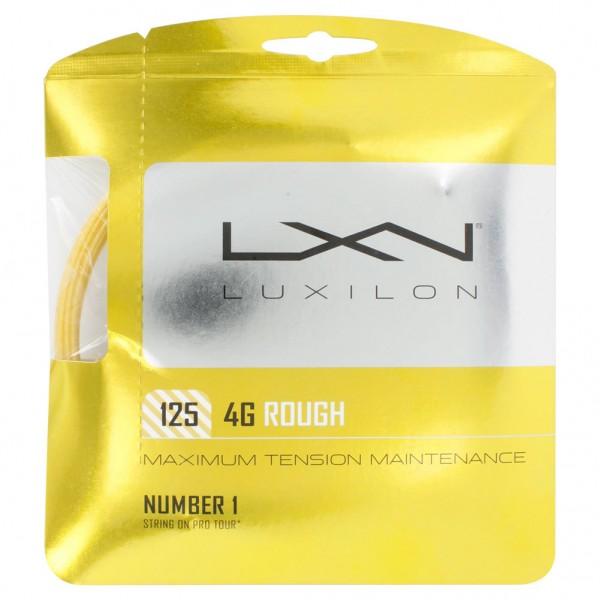 Теннисная струна Luxilon 4G Rough 12 метров