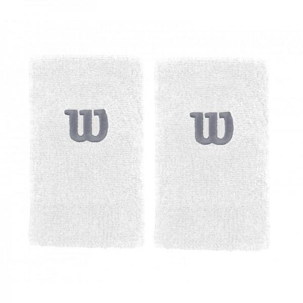 "Напульсник Wilson Double Wristbands 5"" Белый"