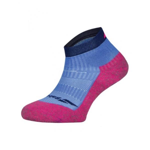 Носки теннисные женские Babolat Pro 360 Blue/Pink
