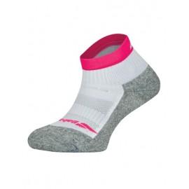 Носки теннисные женские Babolat Pro 360 White/Pink