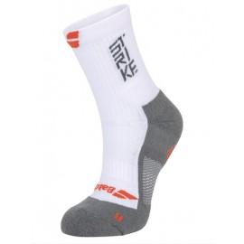 Носки теннисные мужские Babolat Socks Pro 360 White/Grey