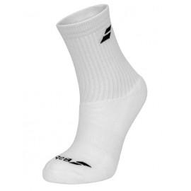 Носки теннисные Babolat Socks Unisex White 3 пары