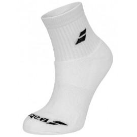 Носки теннисные Babolat Socks Quarter Unisex White 3 пары