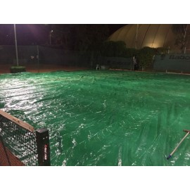 Защитное покрытие от дождя для теннисного корта