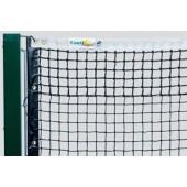 Как установить теннисную сетку на корте? Видео