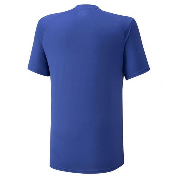 Мужское поло Mizuno Shadow Polo (Blue) для большого тенниса