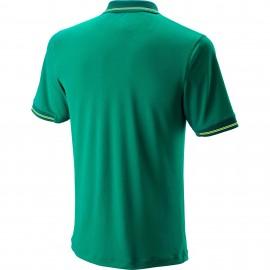 Мужское поло Wilson Star Tipped (Green) для большого тенниса